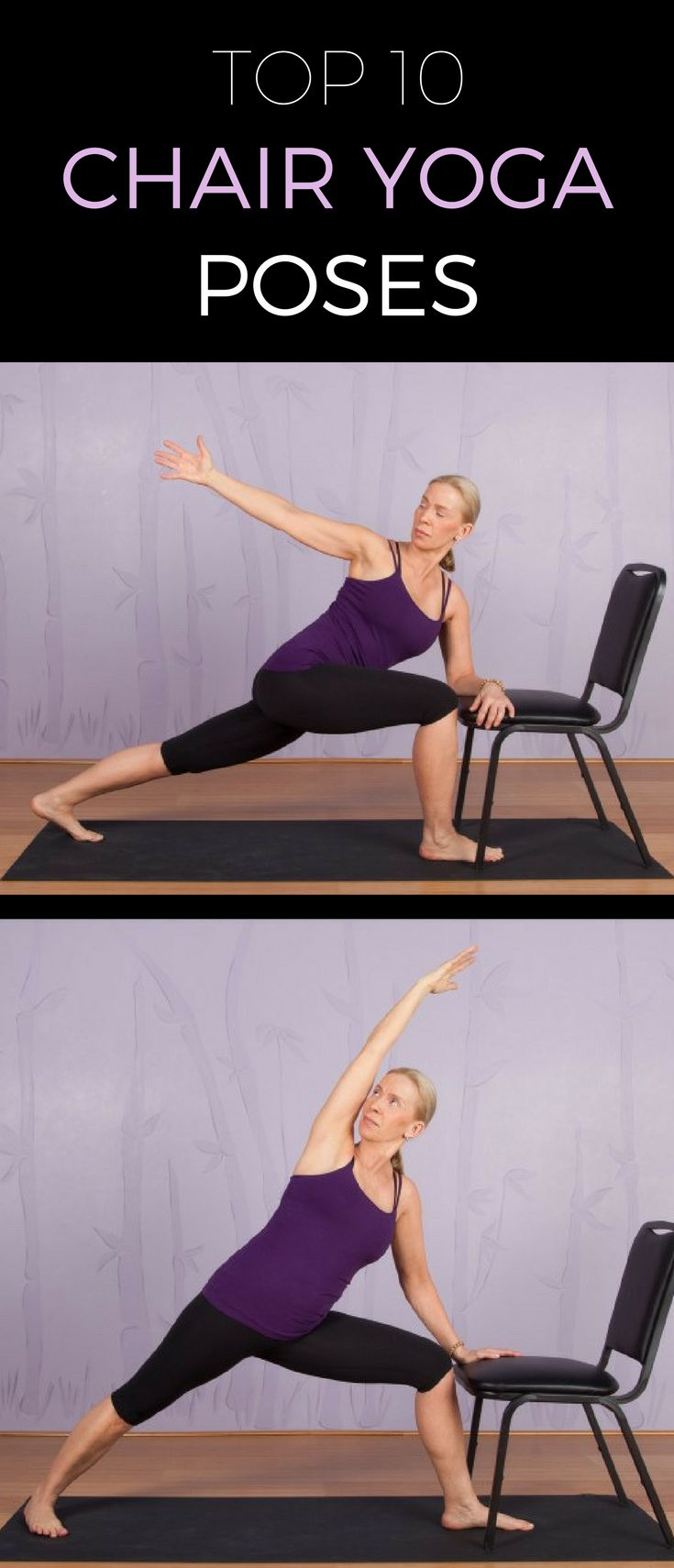 Printable chair yoga poses - Searching For The Perfect Low Impact Workout These Chair Yoga Poses Are For You