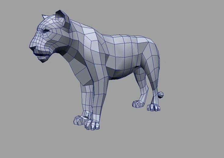 tiger wireframe http://www.foundation3d.com/forums/attachment.php?attachmentid=18425&d=1228063238