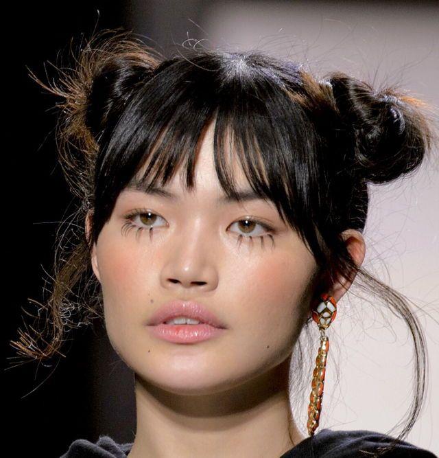 editorial makeup - fake eye