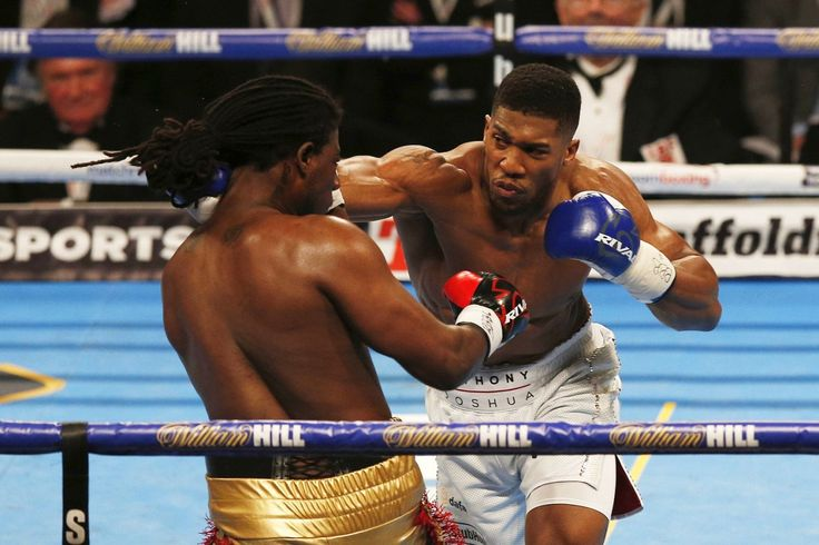 Anthony Joshua fights Dominic Breazeale in first world title...: Anthony Joshua fights Dominic Breazeale in first world… #DominicBreazeale