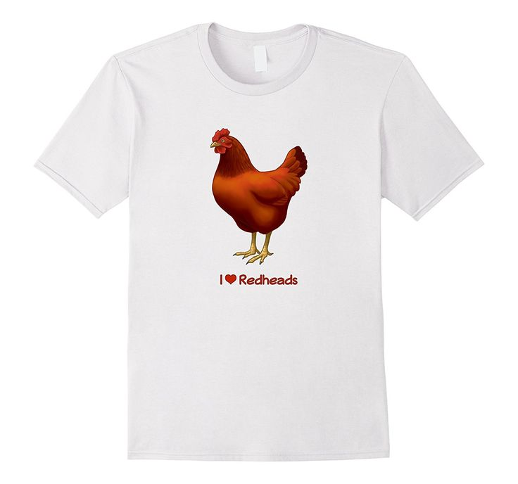 Funny I Love Redheads Rhode Island Red Chicken