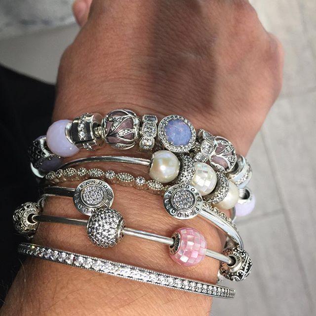 Love the new charms and bracelets#pandora #pandorabracelet…