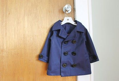 boy jacket tutorial! - liliashSewing Projects, Peas Coats, Boys Peacoats, Sewing Pattern, Boys Jackets, Trench Coats, Coats Pattern, Sewing Tutorials, Little Boys