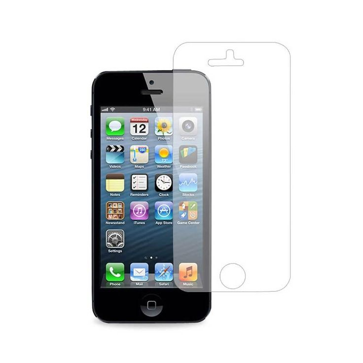 Reiko Front And Back Clear Screen Protector Iphone 5