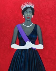 """""""Welfare Queen""""  ~ 2012, by artist, Amy Sherald"""