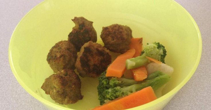 Easy baby meatballs 9mths