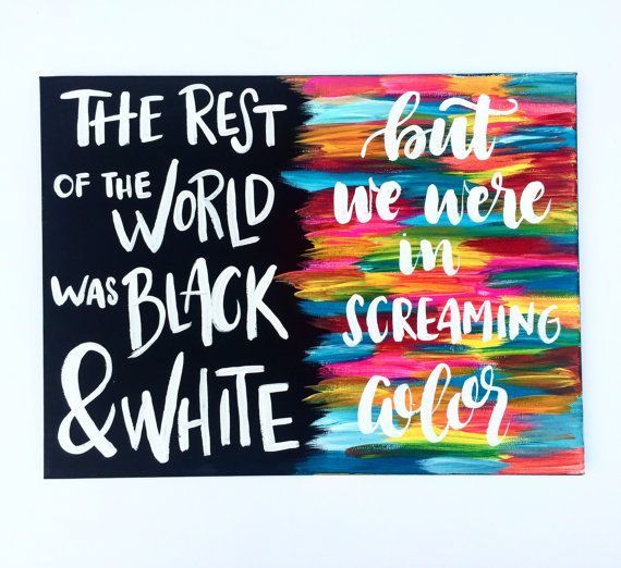 Taylor Swift Painting // Taylor Swift Lyrics // by KTsCanvases