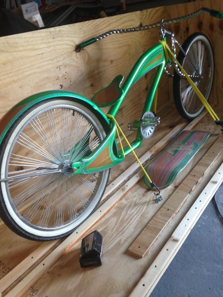 Lowrider Bicycle Project Nyc Uso C C Took 3rd At Lasvegas Super Show Lowrider Bicycle Lowrider Bike Bicycle Bike