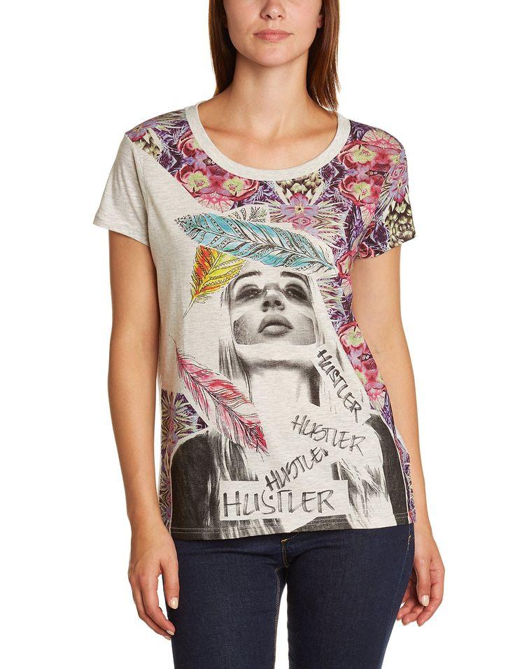 Eleven Paris Women's Crew Neck Short Sleeve T-Shirt: Amazon.co.uk: Clothing