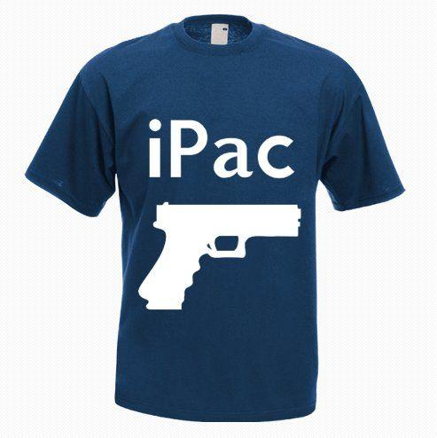 iPac Pistol T-Shirt - http://goo.gl/WY1JNI