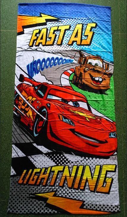 sales promotion new cars 95 microfiber towel cotton cartoon bath towel children beach towel - Beach Towels On Sale