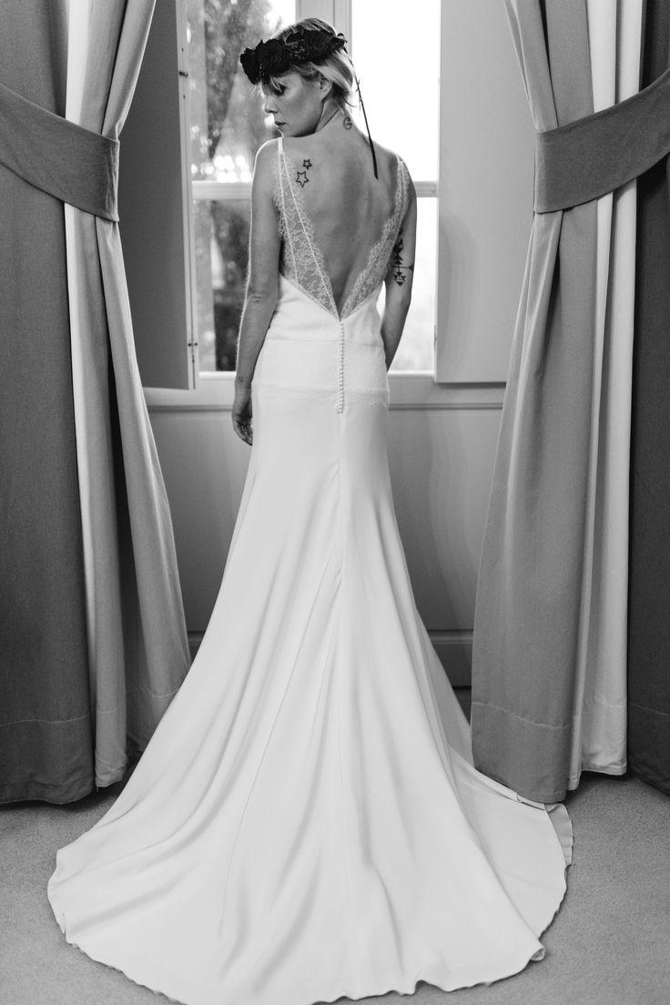 """Robe de mariée sur-mesure Manon GONTERO couturier-créateur collection 2015 """"Noce de rose"""""""