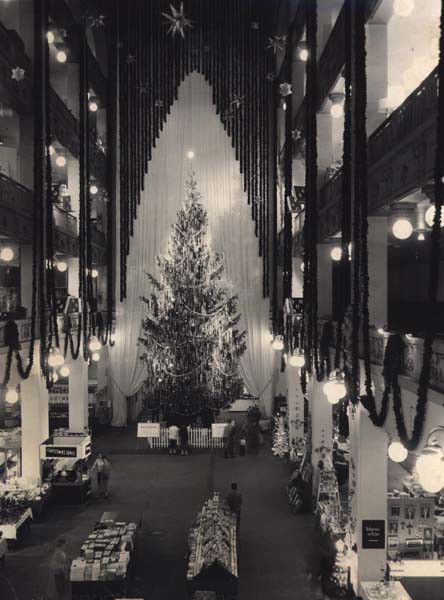 For my mom: Sterling-Lindner-Davis department store, Christmas, Cleveland, Ohio, 1958.