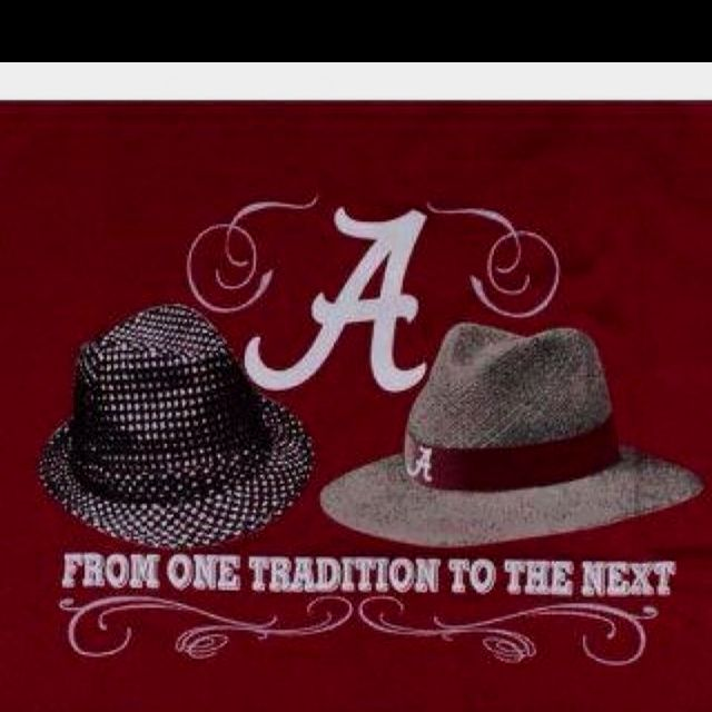From one tradition to the next - Alabama football