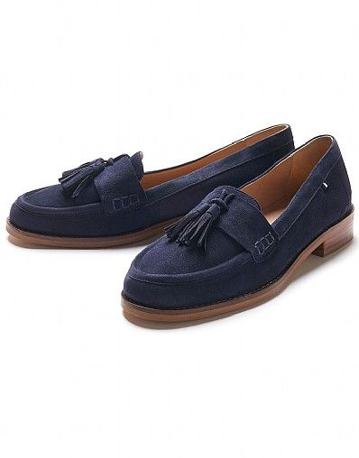 Suede Tassel Loafer_5