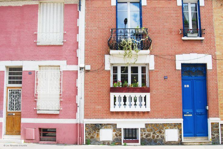 """Paris 20e - Rue du Capitaine Ferber - Blog 'Les Flaneries d'Aurélie' - Paris bucolique #7: quartier """"La Campagne à Paris"""""""
