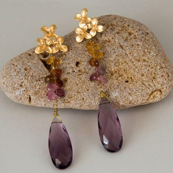 dangle earrings Stellino Jewels Design by StellinoJewels