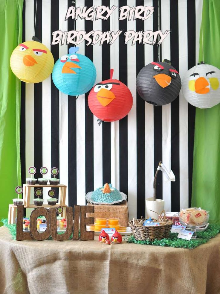 Angry Birds Birthday Party Ideas | Photo 1 of 27 | Catch My Party