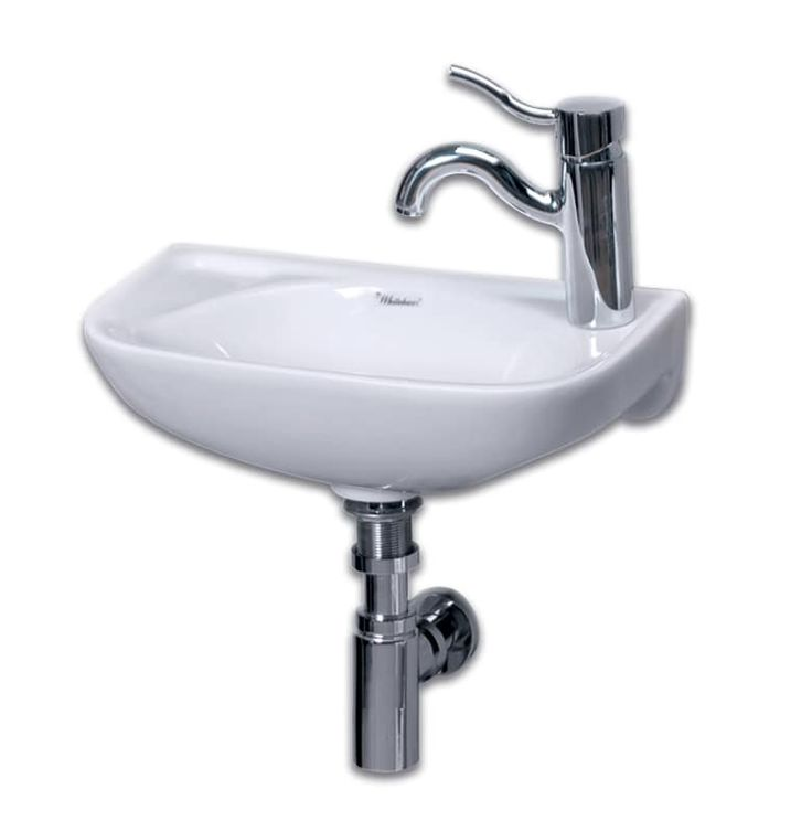 Whitehaus Wh1 102r Isabella 16 1 4 D Shaped Build Com Wall Mounted Basins Wall Mounted Bathroom Sink Wall Mounted Bathroom Sinks