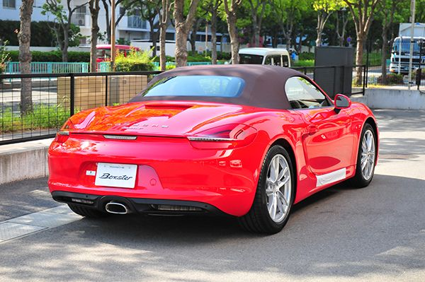 New Boxster ガーズレッド