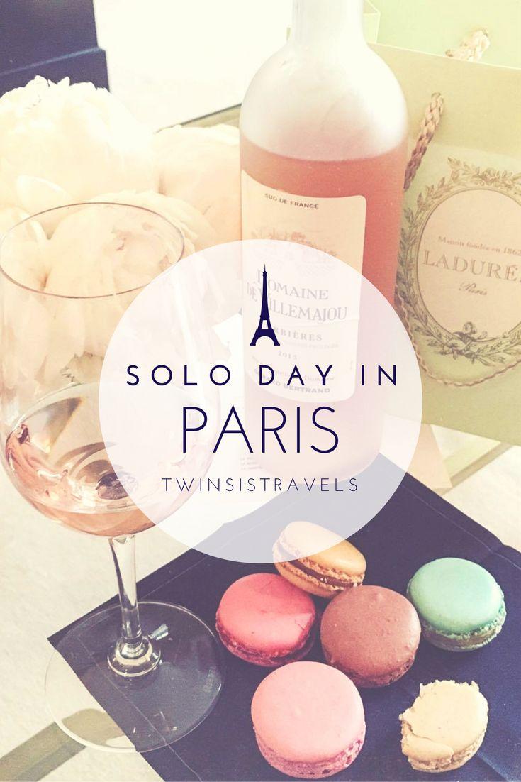 Solo day in Paris