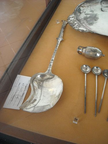 """The silver treasure of """"House of Menander"""" at Pompeii, now in Archaelogical Museum of Naples #TuscanyAgriturismoGiratola"""