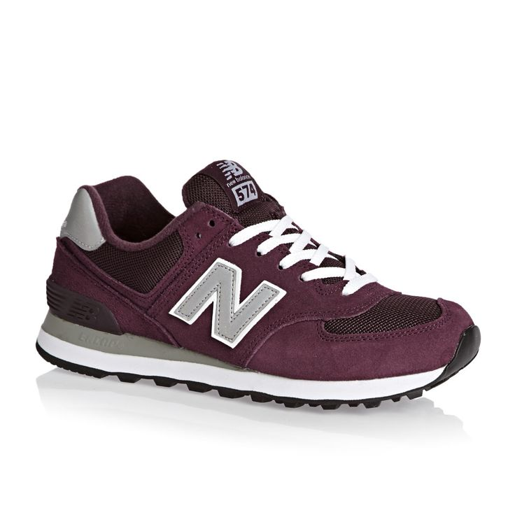 New Balance Shoes - New Balance 574 Shoes - Burgundy