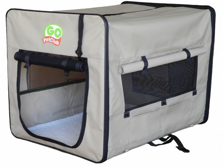 """Go Pet Club Soft Dog Crate Size: Large - 43"""" L X 28"""" W X 32"""" H #home Go Pet Club AE43 Dog Pet Soft Crate, 43-Inch, BeigeProduct Features Provide shelter anywhere you go! Portable compact and lightweight kennel or shelte..."""