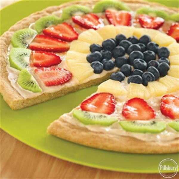 Fruit and Cookie Pizza from Pillsbury®