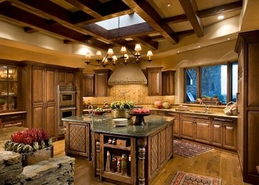 Refined Western Fusion   Traditional   Kitchen   Phoenix   Rondi Kilen Interior  Design, LLC