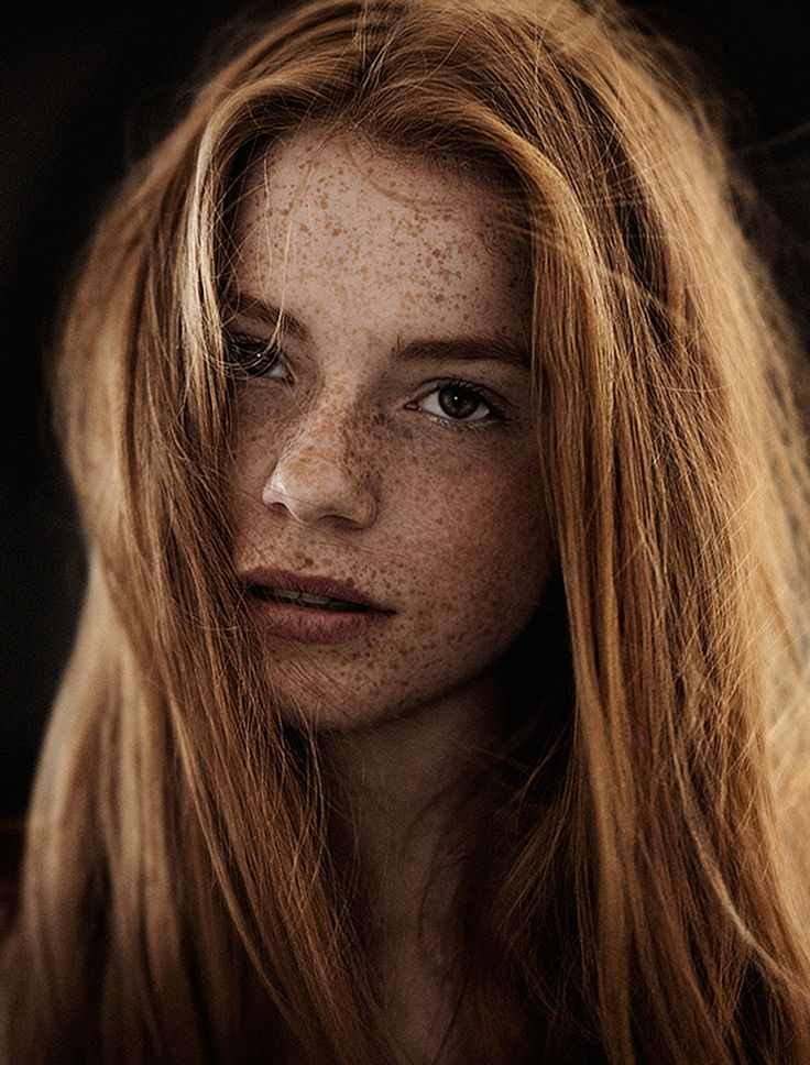 Luca Hollestelle: how I imagined Ginny Weasley to look like when I read the Harry Potter books. | Luca Hollestelle by Carsten Witte