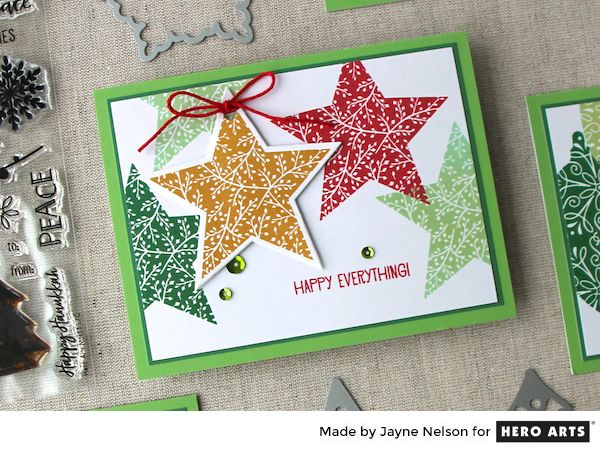 My Monthly Hero: Creativity in a Box November 2017 idea #1 by Jayne Nelson. Kit and add-ons available for purchase Monday, November 6. #mymonthlyhero