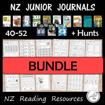 Junior Journal Worksheets for New Zealand reading programmes. Save money by purchasing this bundle. Click on these links to see what this bundle includes ... Link-Junior