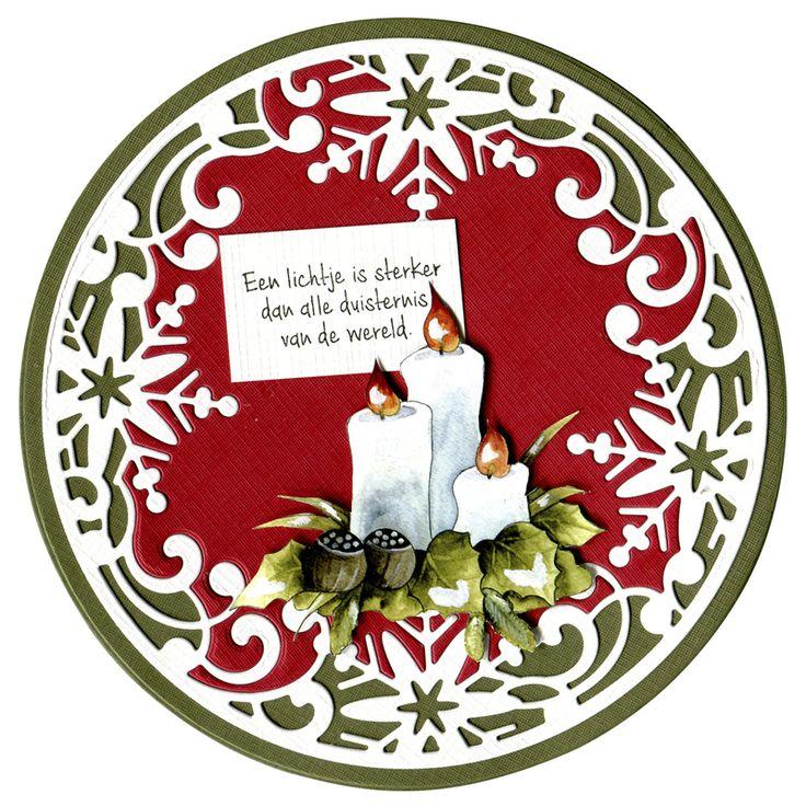 Precious Marieke Die Spirit Of Christmas Snowflake