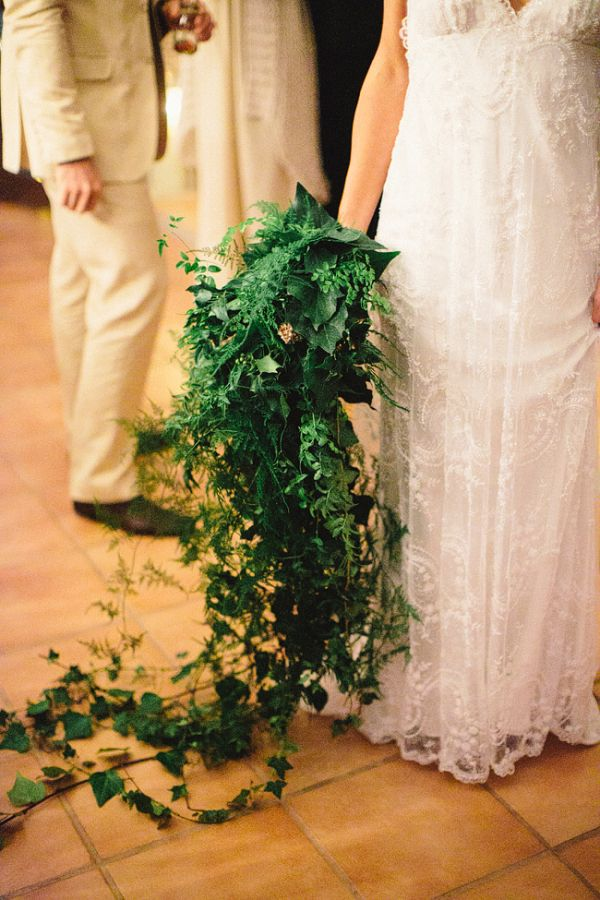 Cascading Greenery Bouquet | photography by http://www.natasjakremersblog.com/ | floral design by http://zinniafloraldesigns.com.au/ | wedding planning/event design by http://www.cdweddings.com.au/