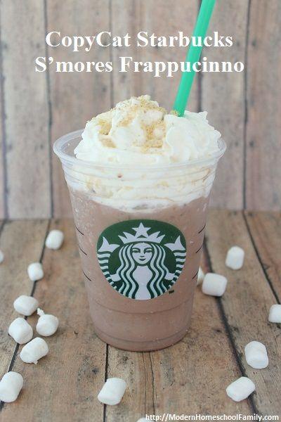 CopyCat Starbucks S'mores Frap