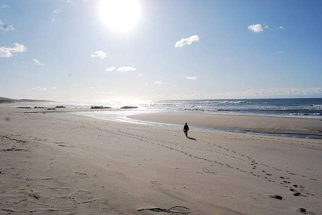 Afife beach is one of the amazing beaches you'll find in northern Portugal.