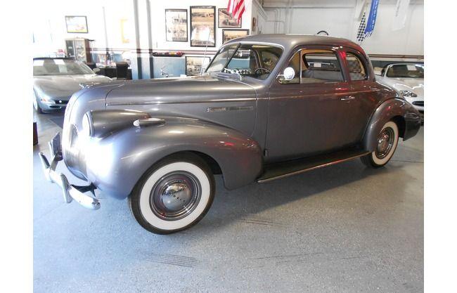 1939 Buick Sedan Straight-8 Sedan Coupe Original Restored All-Steel for sale | Hotrodhotline.com