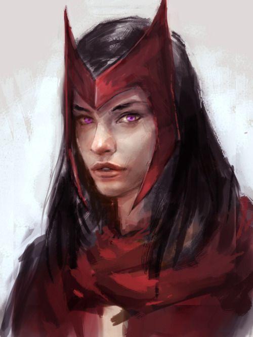 Scarlet Witch - via www.StephenHunt.net