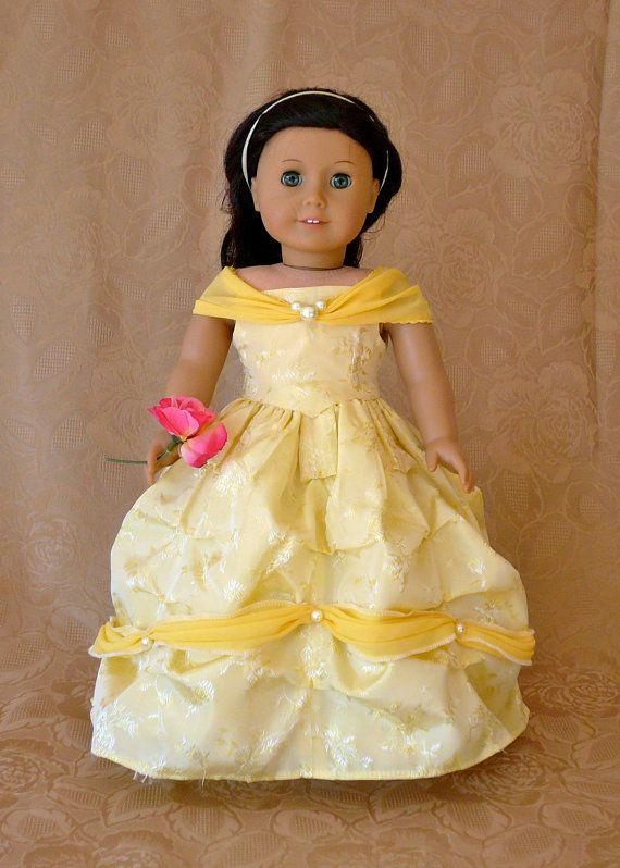 American Girl 18 inch doll clothes Princess by Calyxadollcreations