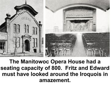 Fred and Edward Bahr of Manitowoc, Wisconsin survived the 1903 Iroquois Theater fire but a family sorrow interfered with their story being told.