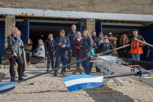 Strong Island Photo Walkshop at Southsea Seafront & Southsea Rowing Club