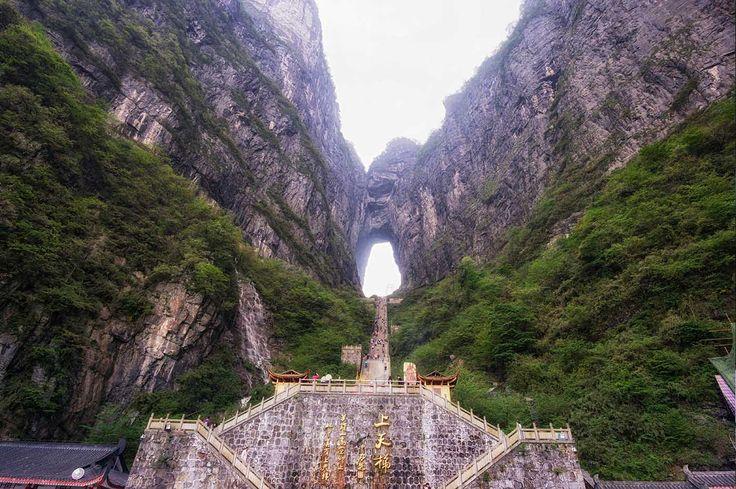 El mirador del cielo - La magia natural de China: enamórate de Tianmén y Zhangjiajie