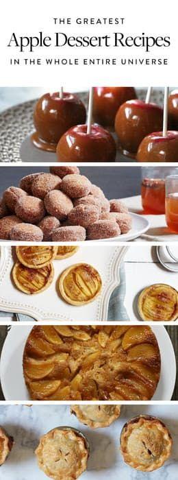 The Greatest Apple Dessert Recipes in the Whole Entire Universe via @PureWow