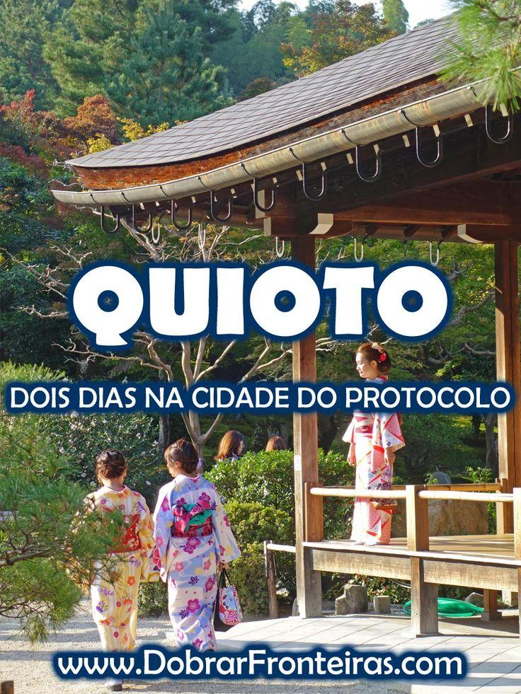 Não foi difícil escolher Quioto como destino prioritário no Japão. Templos de ouro, Gueixas ao virar da esquina, sorrisos no rosto. Isto é Quioto! #quioto #japao #viagem