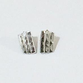 Hand Made Sterling Silver Stud Earrings £18.00