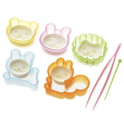 Animal Ham and Cheese Cutters http://littlebentoworld.com/shop/food-cutters/animal-cutters/