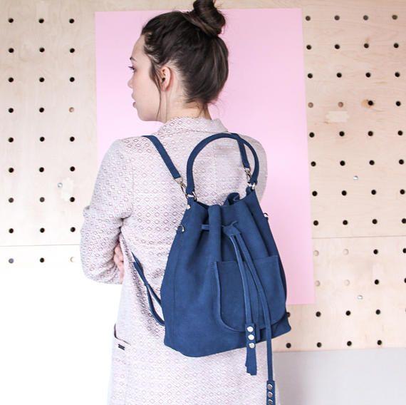leather bucket bag  bucket bag  backpack  leather backpack