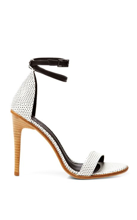Tibi Amber Printed Leather Sandals
