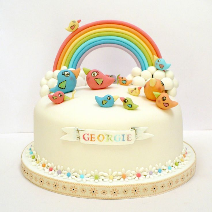 just saving some ideas for a rainbow to put on an upcoming cake